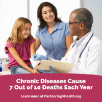 Chronic Diseases Cause 7 Out of 10 Deaths Each Year